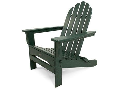 Trex® Outdoor Furniture Cape Cod Folding Adirondack in Rainforest Canopy