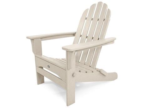 Trex® Outdoor Furniture Cape Cod Folding Adirondack in Sand Castle