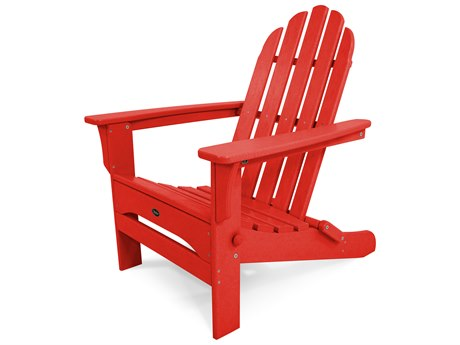 Trex® Outdoor Furniture Cape Cod Folding Adirondack in Sunset Red