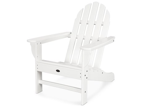 Trex® Outdoor Furniture Cape Cod Adirondack Chair in Classic White