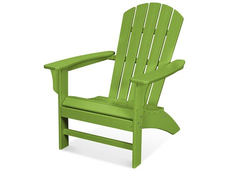 Trex Outdoor Furniture Yacht Club Adirondack Chair in Lime