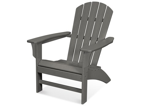 Trex Outdoor Furniture Yacht Club Adirondack Chair in Stepping Stone