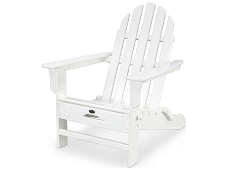 Trex® Outdoor Furniture Cape Cod Ultimate Adirondack in Classic White