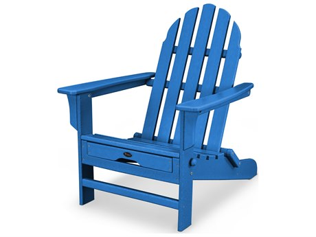 Trex® Outdoor Furniture Cape Cod Ultimate Adirondack in Pacific Blue