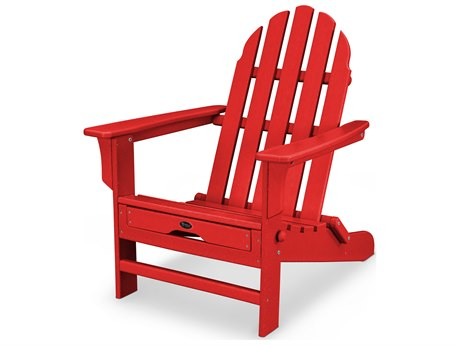 Trex® Outdoor Furniture Cape Cod Ultimate Adirondack in Sunset Red
