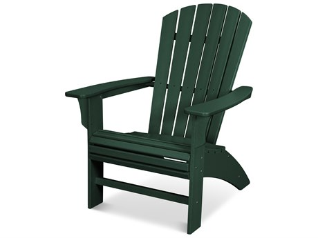 Trex Outdoor Furniture Yacht Club Curveback Adirondack Chair in Rainforest Canopy