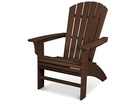Trex Outdoor Furniture Yacht Club Curveback Adirondack Chair in Vintage Lantern