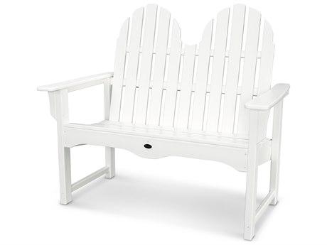 Trex® Outdoor Furniture Cape Cod Adirondack 48'' Bench in Classic White
