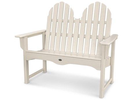 Trex® Outdoor Furniture Cape Cod Adirondack 48'' Bench in Sand Castle