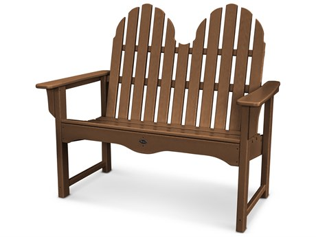 Trex® Outdoor Furniture Cape Cod Adirondack 48'' Bench in Tree House