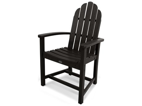 Trex® Outdoor Furniture Cape Cod Adirondack Dining Chair in Charcoal Black