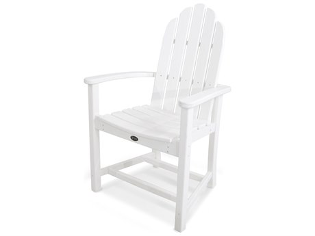 Trex® Outdoor Furniture Cape Cod Adirondack Dining Chair in Classic White
