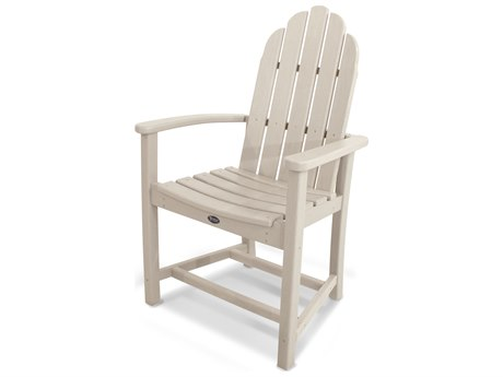 Trex® Outdoor Furniture Cape Cod Adirondack Dining Chair in Sand Castle