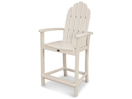 Trex® Outdoor Furniture Cape Cod Adirondack Counter Chair in Sand Castle