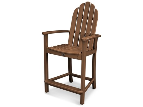 Trex® Outdoor Furniture Cape Cod Adirondack Counter Chair in Tree House