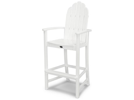 Trex® Outdoor Furniture Cape Cod Adirondack Bar Chair in Classic White