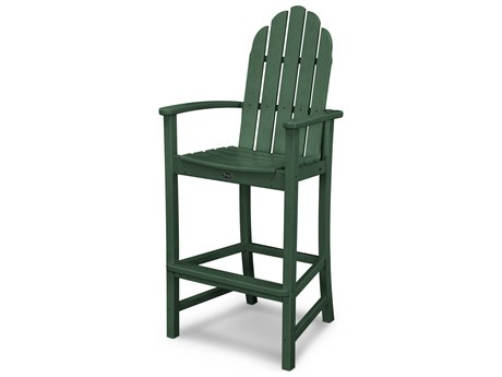Trex® Outdoor Furniture Cape Cod Adirondack Bar Chair in Rainforest Canopy