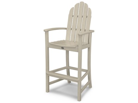 Trex® Outdoor Furniture Cape Cod Adirondack Bar Chair in Sand Castle