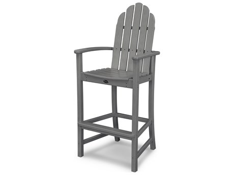 Trex® Outdoor Furniture Cape Cod Adirondack Bar Chair in Stepping Stone