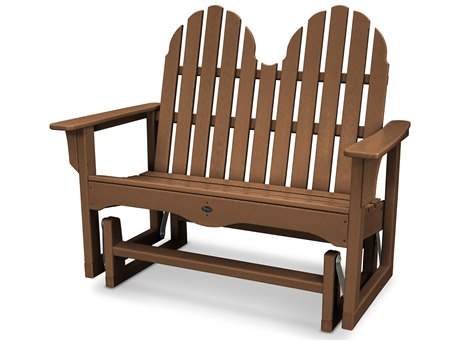 Trex® Outdoor Furniture Cape Cod Adirondack 48'' Glider in Tree House