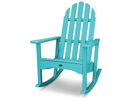Trex® Outdoor Furniture Cape Cod Adirondack Rocking Chair in Aruba