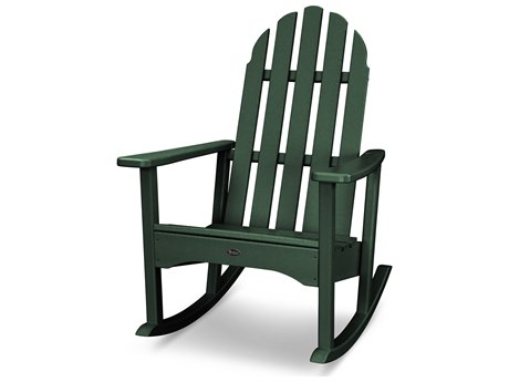 Trex® Outdoor Furniture Cape Cod Adirondack Rocking Chair in Rainforest Canopy