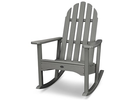 Trex® Outdoor Furniture Cape Cod Adirondack Rocking Chair in Stepping Stone