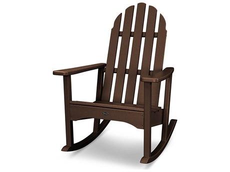 Trex® Outdoor Furniture Cape Cod Adirondack Rocking Chair in Vintage Lantern