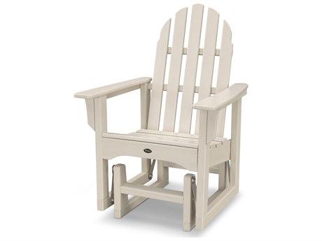 Trex® Outdoor Furniture Cape Cod Adirondack Glider Chair in Sand Castle