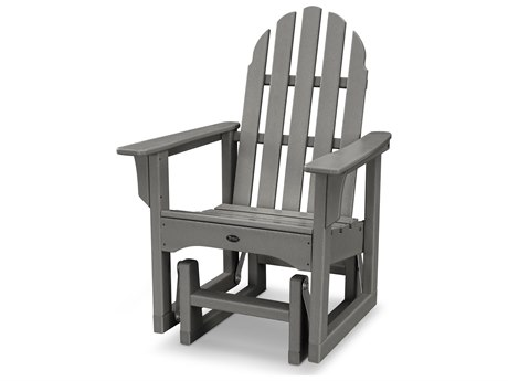 Trex® Outdoor Furniture Cape Cod Adirondack Glider Chair in Stepping Stone