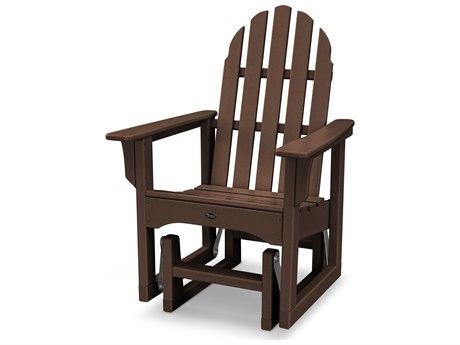 Trex® Outdoor Furniture Cape Cod Adirondack Glider Chair in Vintage Lantern