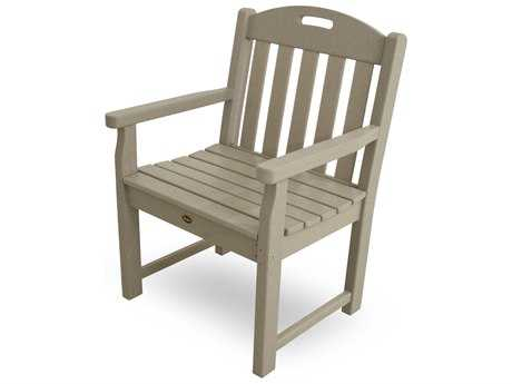 Trex® Yacht Club Recycled Plastic Garden Arm Chair TRXTXB24