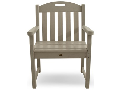 Trex® Outdoor Furniture Yacht Club Garden Arm Chair in Sand Castle