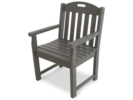 Trex® Outdoor Furniture Yacht Club Garden Arm Chair in Stepping Stone