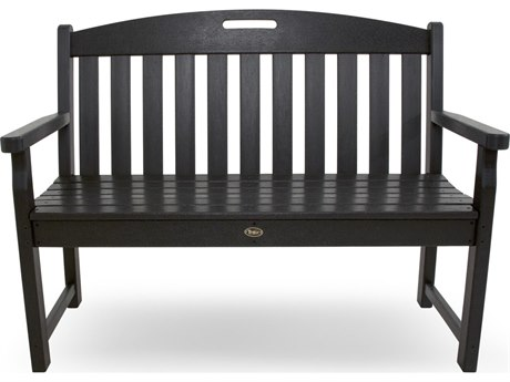 Trex® Outdoor Furniture Yacht Club 48'' Bench in Charcoal Black
