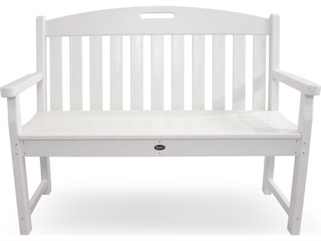 Trex® Outdoor Furniture Yacht Club 48'' Bench in Classic White