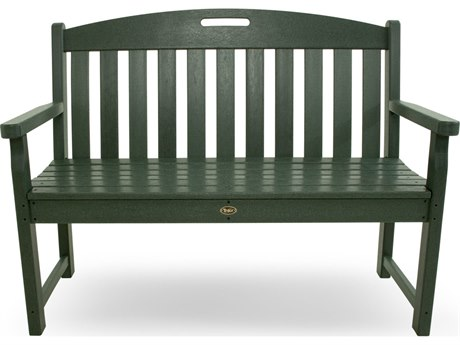 Trex® Outdoor Furniture Yacht Club 48'' Bench in Rainforest Canopy