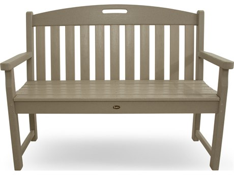 Trex® Outdoor Furniture Yacht Club 48'' Bench in Sand Castle