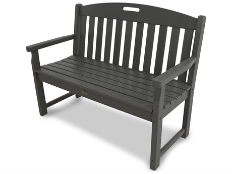 Trex® Outdoor Furniture Yacht Club 48'' Bench in Stepping Stone