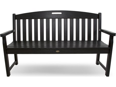 Trex® Outdoor Furniture Yacht Club 60'' Bench in Charcoal Black