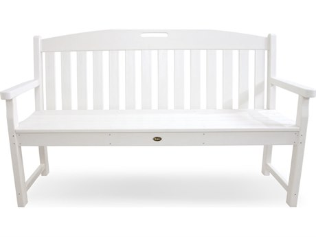 Trex® Outdoor Furniture Yacht Club 60'' Bench in Classic White