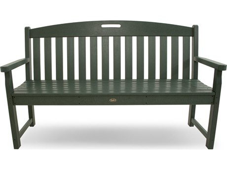 Trex® Outdoor Furniture Yacht Club 60'' Bench in Rainforest Canopy