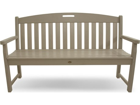 Trex® Outdoor Furniture Yacht Club 60'' Bench in Sand Castle