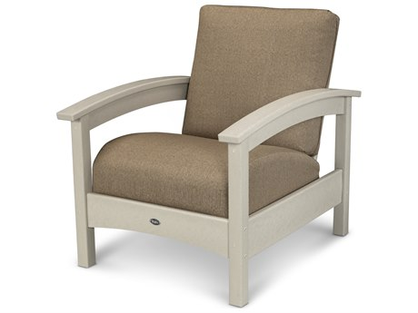 Trex® Outdoor Furniture Rockport Club Chair in Sand Castle / Sesame TRXTXC23SC8318