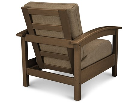 Trex® Outdoor Furniture Rockport Club Chair in Tree House / Sesame TRXTXC23TH8318