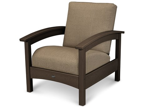 Trex® Outdoor Furniture Rockport Club Chair in Vintage Lantern / Sesame TRXTXC23VL8318
