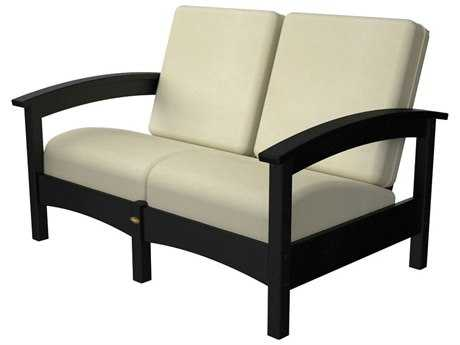 Trex® Rockport Recycled Plastic Club Settee