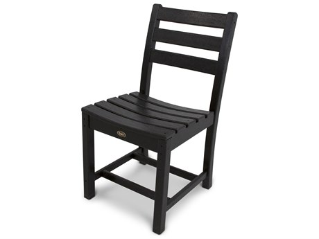 Trex® Outdoor Furniture Monterey Bay Dining Side Chair in Charcoal Black
