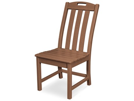 Trex Outdoor Furniture Yacht Club Dining Side Chair in Tree House