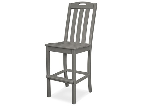Trex Outdoor Furniture Yacht Club Bar Side Chair in Stepping Stone